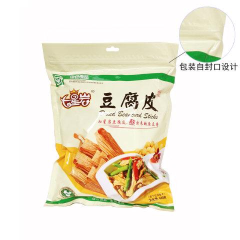 福建三明  七星岩清流豆腐皮腐竹干货手工豆制品非转基因无添加480克