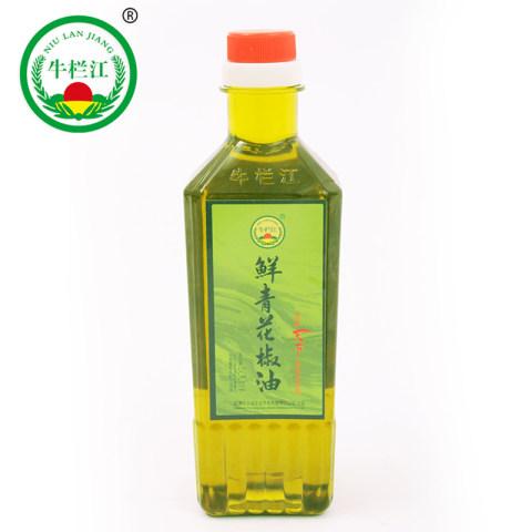 鲜青花椒油 云南 昭通 鲁甸青花椒 青花椒油 麻油瓶装500ml
